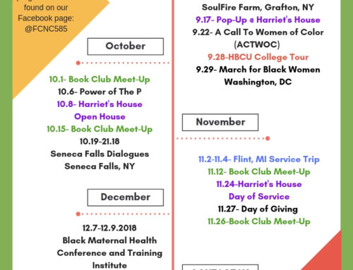 Fall/Winter 2018 Schedule of Events